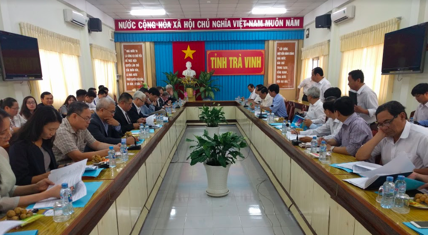Becamex and Tra Vinh government
