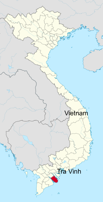 tra vinh vietnam map Tra Vinh Province In The Mekong Delta Vietnam Business In Asia Com